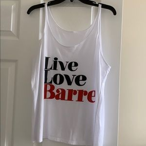Barre tank top